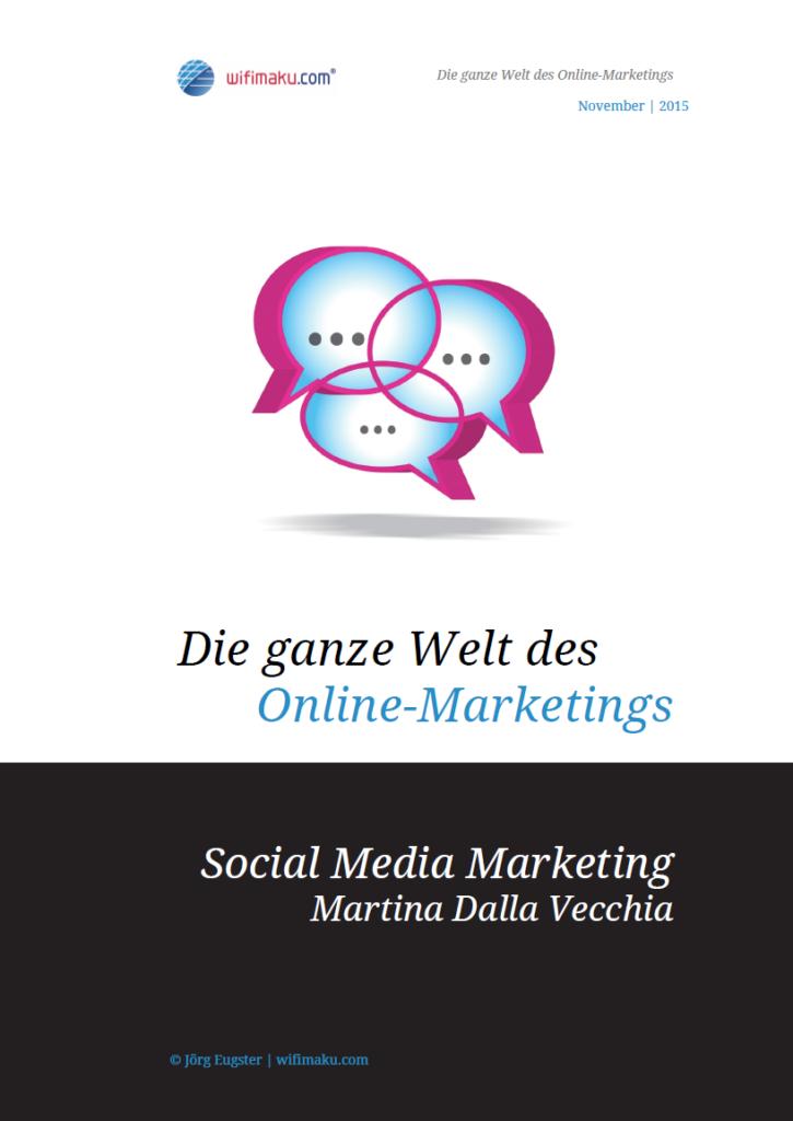 Cover E-Book Social-Media-Marketing von Martina Dalla Vecchia